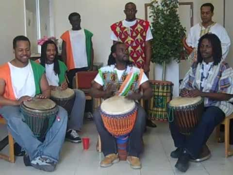 TRA BI LIZIE African Djembe Drumming IV featuring BOLO BOLO BLAUWEH