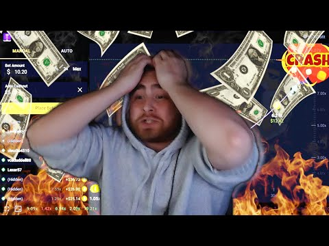 How i lost all my money in one night playing Crash... (RooBet)