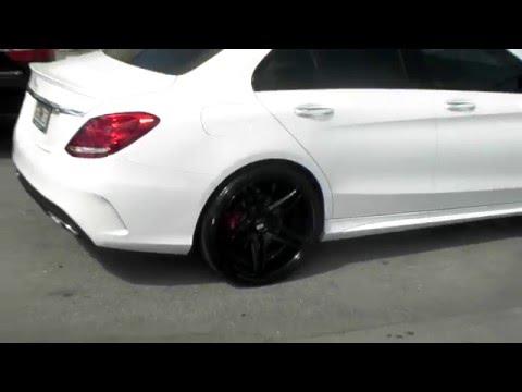 877-544-8473 20 inch XO Caracas Black Rims 2016 Mercedes C300 Concave Rims Free Shipping