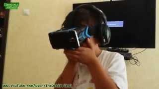 Эмоциональный мальчик в Виртуальной Реальности!  Emotional boy in Virtual Reality !