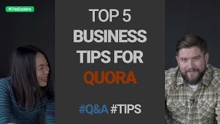 Business Tips for Quora (How to Get 650 Leads in ONE Month from JUST Quora Alone) | #ChiaExplains