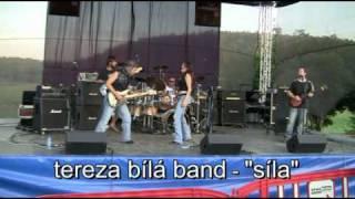 """Video Tereza Bílá Band - """" SÍLA """""""