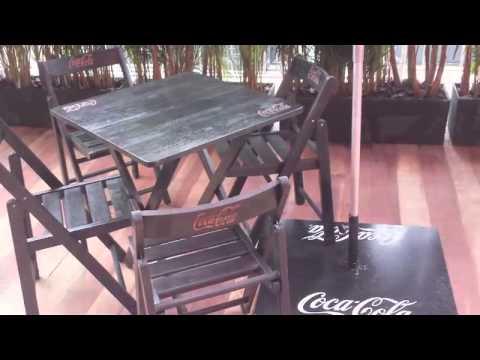 Case Rubim mesas e cadeiras Cadeira com Madeira Reflorestada Acessório em Madeira