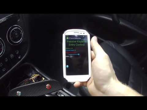 Unlock Your Car With A Bluetooth-Powered Keyless Entry System