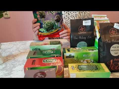 ПОКУПКИ из ВЬЕТНАМА. ЧАЙ.//Tea from Vietnam//