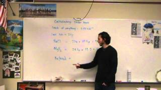 Empirical Formula & Molecular Formula Determination