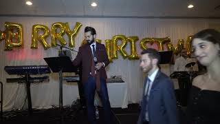 Christmas Party 2019 In Chicago IL With Linda George, Jacob Ishak, And Martin Yaqo Part 2