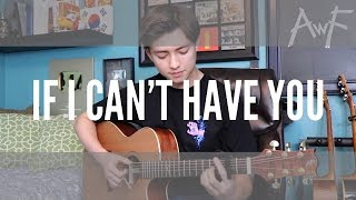 If I Can't Have You   Shawn Mendes   Cover (fingerstyle Guitar)  Andrew Foy
