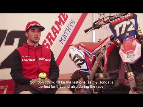 This is Mathys Boisramé - Honda's EMX250 rising star
