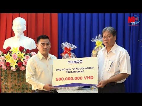 Công ty Cổ phần ôtô Trường Hải hỗ trợ người nghèo 500 triệu đồng vui Xuân, đón Tết