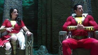 Family On Thrones (teases BLACK ADAM) | Shazam! [Deleted Scene]