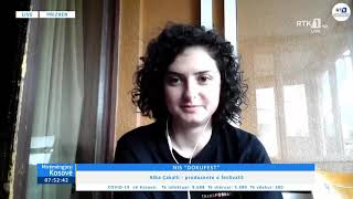 Mirëmëngjesi Kosovë - Drejtpërdrejt - Alba Çakalli 07.08.2020