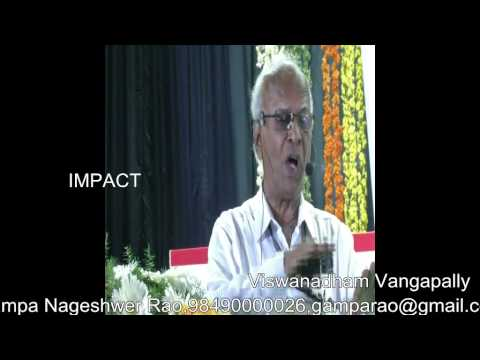 Creativity | V Viswanadham | TELUGU IMPACT Tirupati 2014