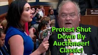Protester Phone Auction Twitter Hearing While Escorted Out! LMAO!