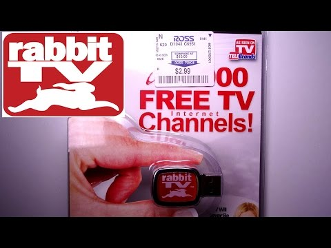 Download Rabbit Tv USB  - Does it work? Is it worth it? -- Unboxing and review! Mp4 HD Video and MP3