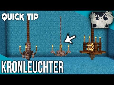 Minecraft Kronleuchter bauen | Quick Tip