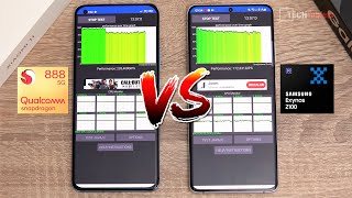 Exynos 2100 Vs Snapdragon 888 SHOCKING Results! Ft Mi 11 & Galaxy S21 Ultra