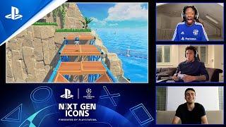 PlayStation #UCL Next Gen Icons - Ep 2: Weston Mckennie vs Giovanni Reyna Challenge | PS5 anuncio