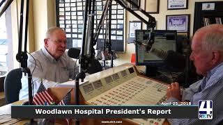 Woodlawn Hospital Report - April 2018