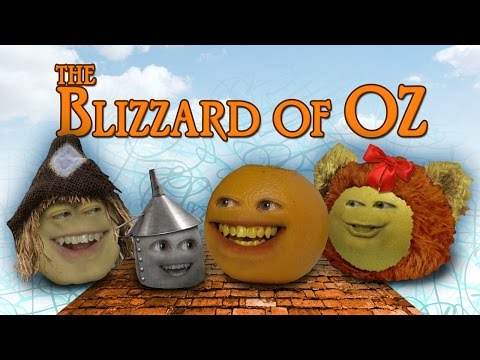 Annoying Orange - Blizzard of OZ (Wizard of OZ parody)