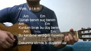 Gitar Dersi - Günah Benim (Eypio&Burak King)