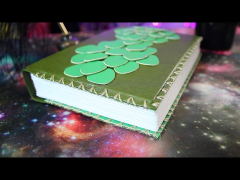 DIY Dragon Hide Journal, Witch Crafting #7 (Contest Closed)