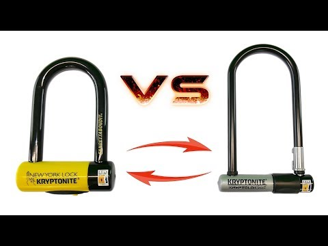 Kryptonite Kryptolok Series 2 Vs Kryptonite Fahgettaboudit Mini