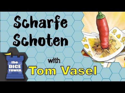 Dice Tower Reviews: Scharfe Schoten