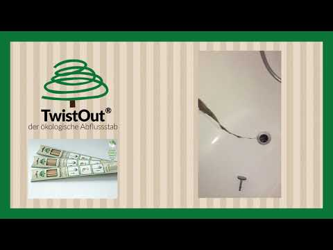 TwistOut Abflussstab (8 Stück)