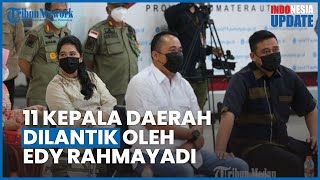Edy Rahmayadi Lantik 11 Kepala Daerah di Sumut, Menantu Jokowi Bobby Nasution Turut Dilantik