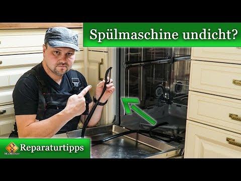 Spülmaschine undicht / Türdichtung defekt - Reparaturanleitung