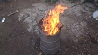 Feuertonne Selber bauen How to Make a Burn Barrel