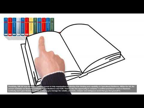DRI UK Operational Resilience Training courses - YouTube