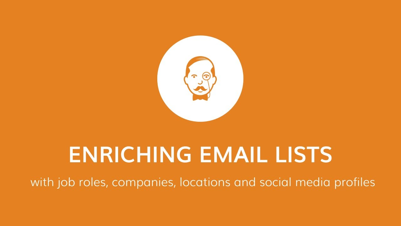 Enriching Email Lists With Job Roles, Companies, Locations And Social Profiles – VoilaNorbert.com