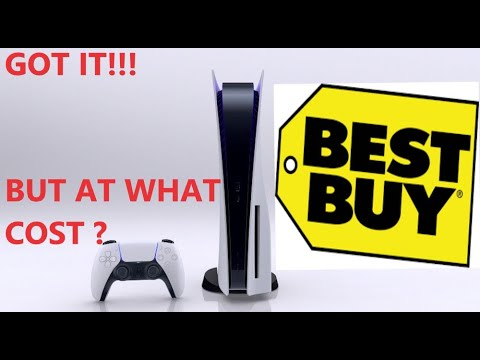 The Most Stressful Pre-Order (PS5 BEST BUY)