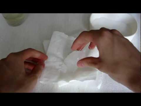 Eczema acquoso su unguento di mani