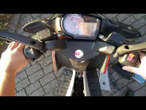 🔴 Aprilia SR50R Batteriewechsel - Tachoproblem - Piaggio Motor