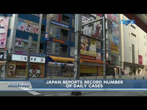 [EagleNewsPH]  Japan reports record number of daily cases