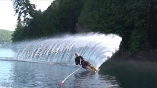 How to Slalom Course Water ski: FM Tech Series Core Connected Slalom