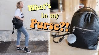 What Is In My Purse/backpack 2018