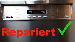 Spülmaschine geht nicht an Miele -  repariert schnell und unkompliziert.