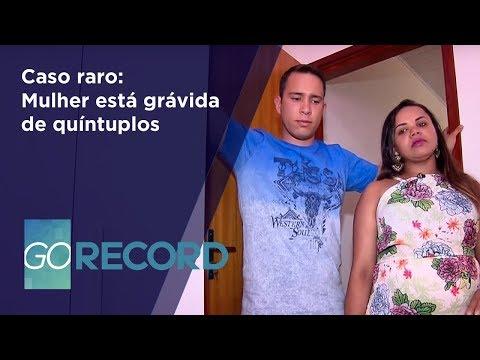 GR - Caso raro: Mulher está grávida de quíntuplos - 24-05-2018