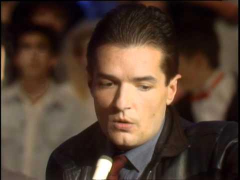 Dick Clark Interviews Falco - American Bandstand 1986