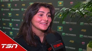 Bianca Andreescu On The Obstacles She Faced In The Championship Match