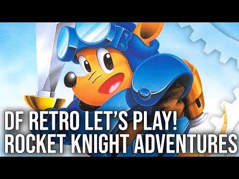 DF Retro Let's Play: Rocket Knight Adventures - Classic Sega Genesis/ Mega Drive Action!