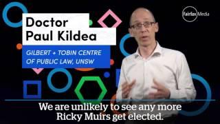 Senate voting changes - Australian Federal election 2016