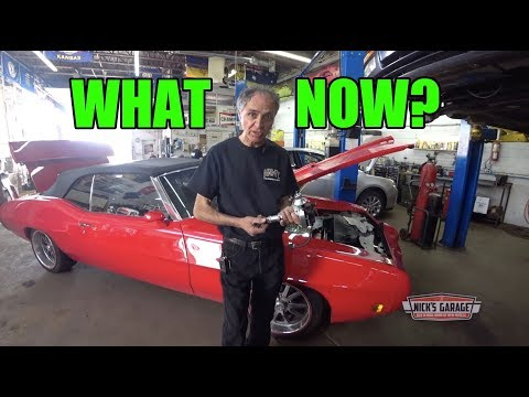 1970 GTO Won't Turn Over - Thunderbird Soft Top Puzzle