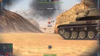 WOT Blitz: фантастический Мастер на AMX AC 48 против 5 остался один и нагнул
