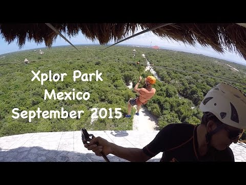 Xplor Park near Cancun (Vacation in Mexico – Part 3 – 09/2015)