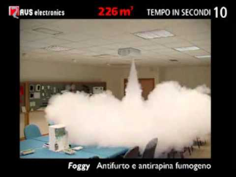 Générateur de fumée Anti intrusion   Anti agression